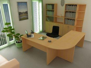 Фото - Офисный стол 432