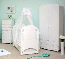 Детская кроватка Соня ЛД 8 маятник