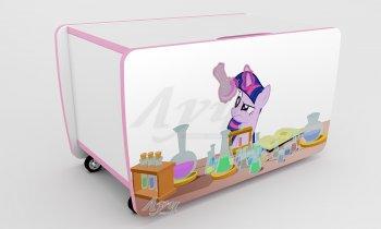 Фото - Ящик для игрушек Little Pony