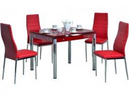 Комплект стол Черри и стулья Клод