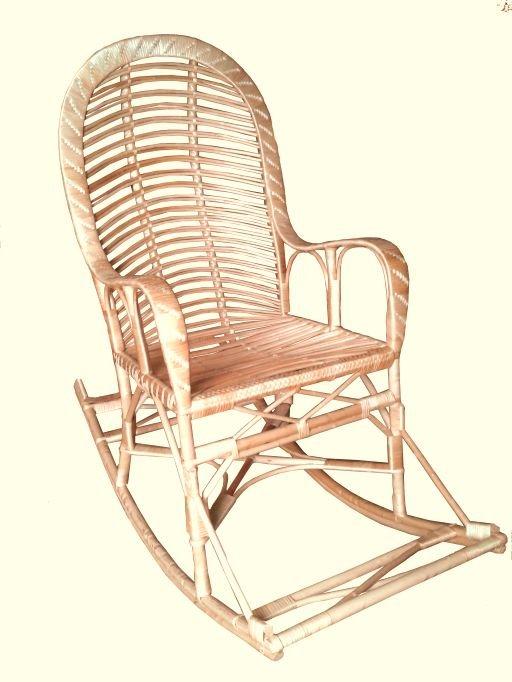 Фото - Кресло качалка из лозы КК-7