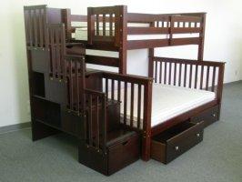 Двухъярусная кровать Полигон