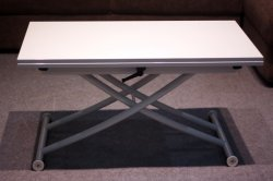 Стол B2219-S-6 Сhrome+White