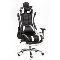 Кресло ExtremeRace with footrest (с поддержкой для ног)