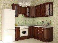 Кухня угловая София. Готовый вариант 2