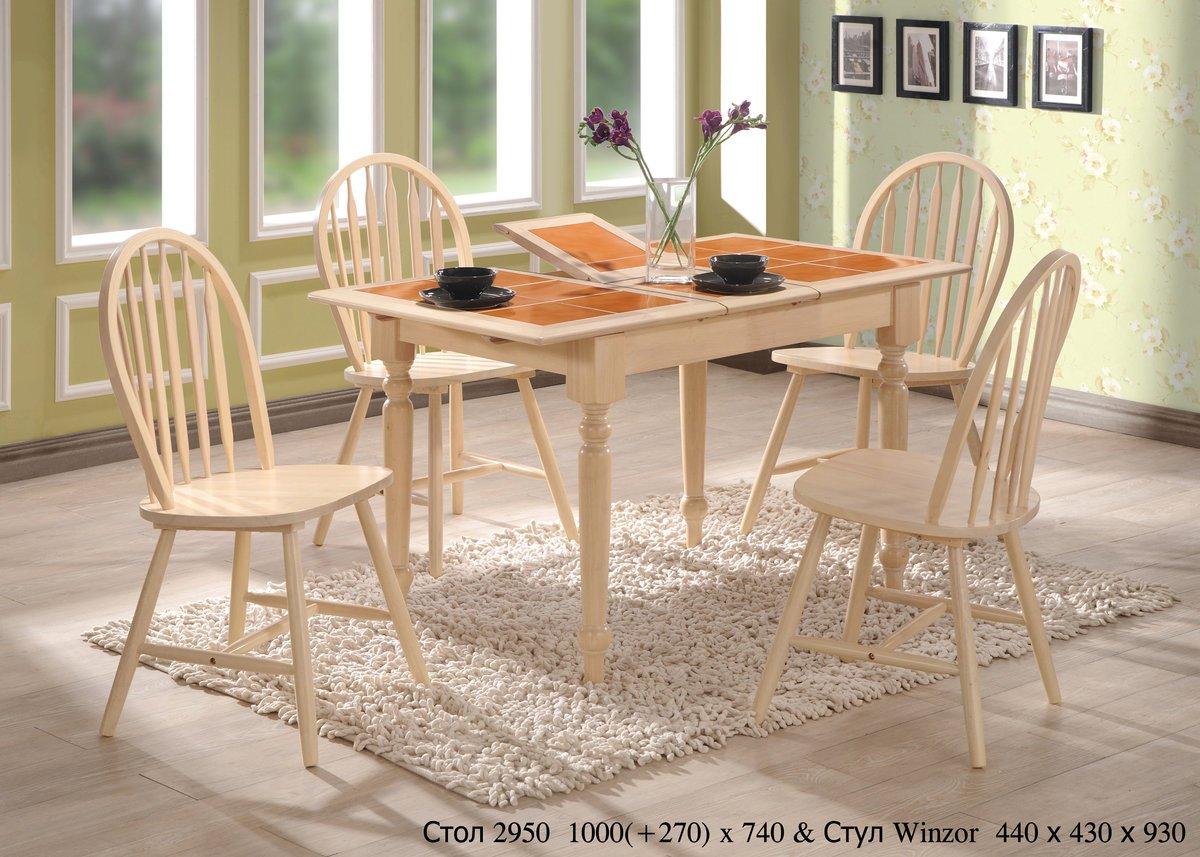 Фото - Стол СТ2950 и стулья Winzor