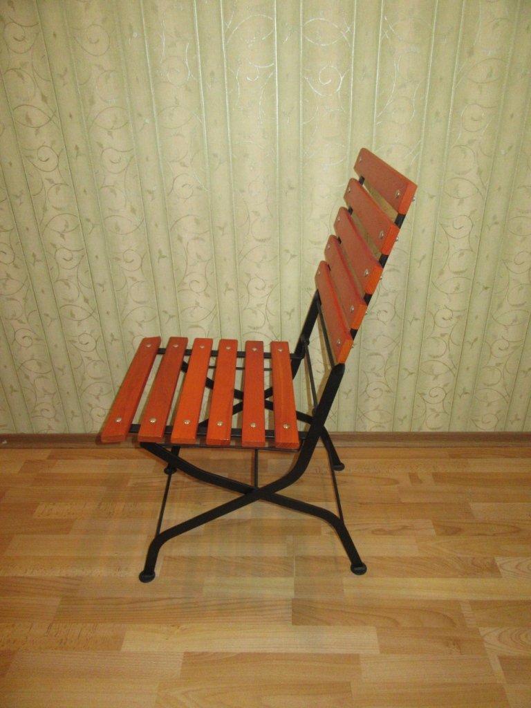 Фото - Раскладной стул для террас кафе
