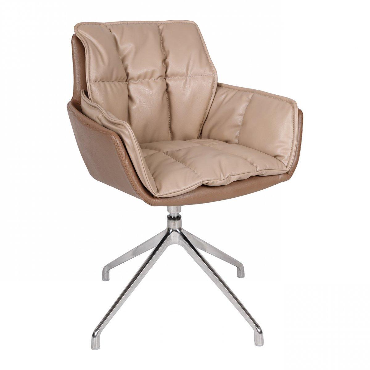 Фото - Кресло поворотное PALMA экокожа