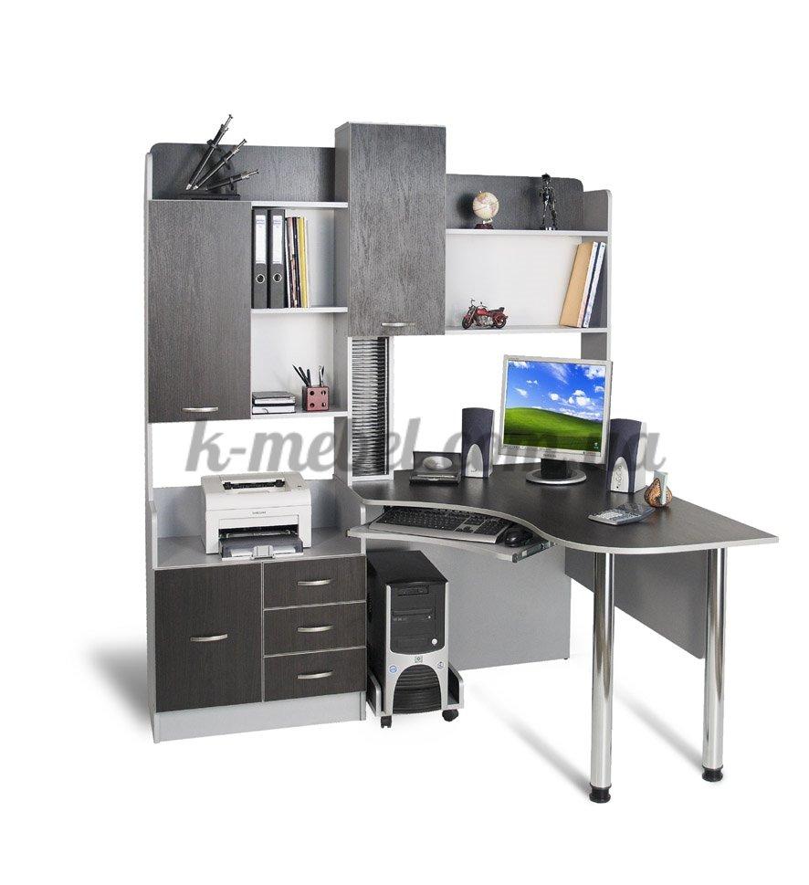 Фото - Угловой компьютерный стол СК-10