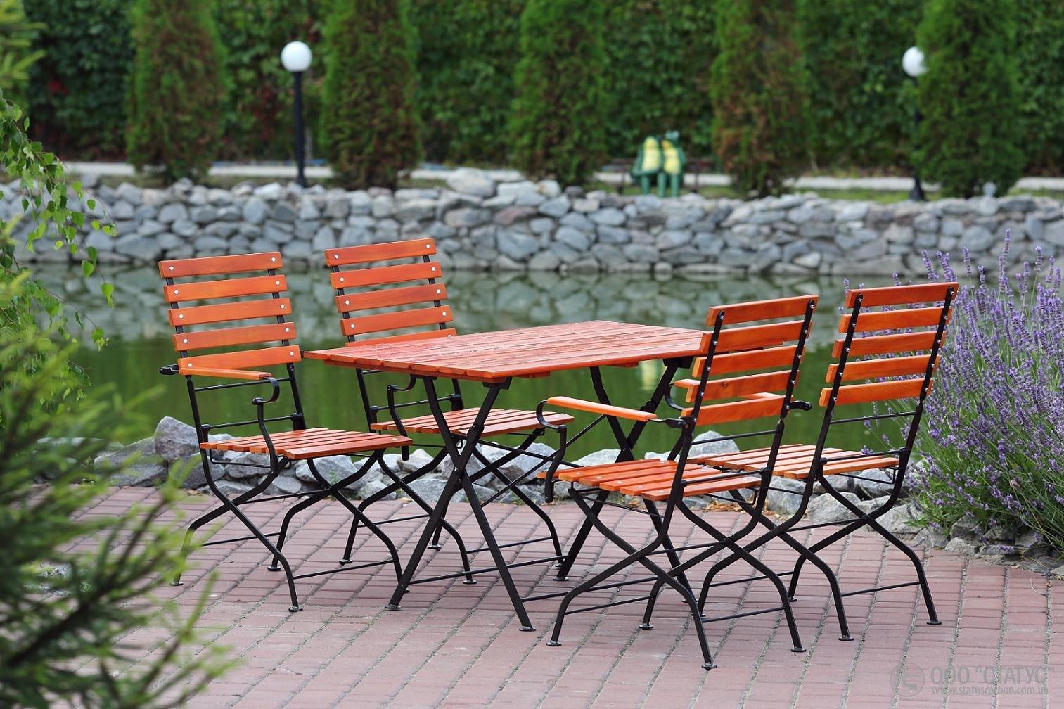 Фото - Раскладная мебель для открытых террас кафе и ресторанов