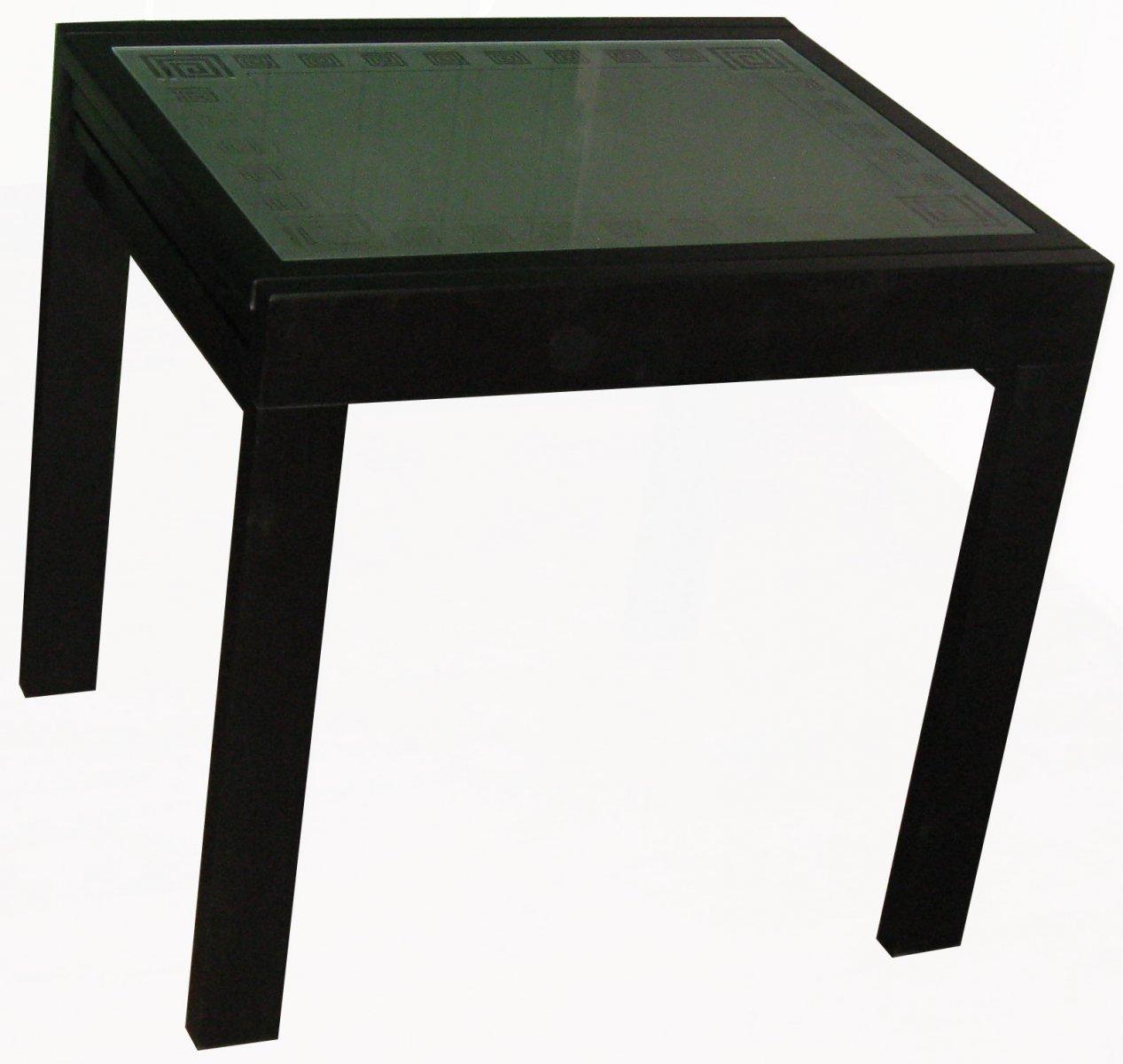 Фото - Раскладной стеклянный стол Чибис (СК6)