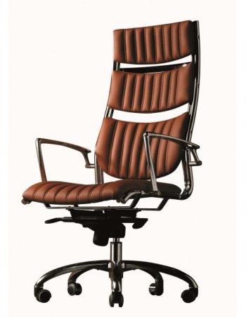 Фото - Кресло SITIA HAVANA для руководителя, кожаное