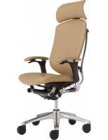 Кресло Okamura Contessa для руководителя кожаное.