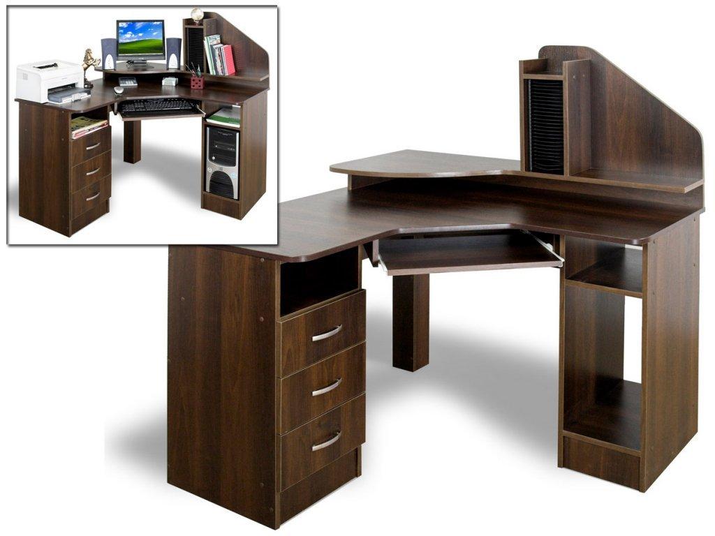 Фото - Угловой компьютерный стол СК-120