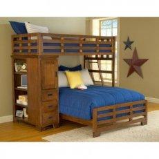 Фото - Двухъярусная кровать-чердак Родео