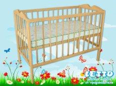 Детская кроватка Малютка