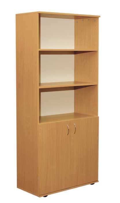 Фото - Шкаф книжный полузакрытый 2-дверный (0632)