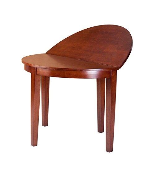 Стол деревянный полукруглый