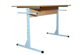 Фото - Стол для столовых 6-местный, с регулировкой по высоте