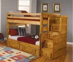 Кроватка детская двухъярусная ДПЛ-20