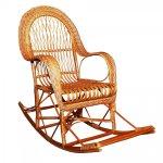 Кресло качалка из лозы КК-10