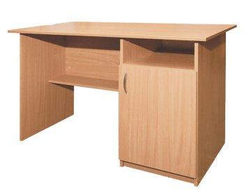 Фото - Стол письменный, 1-дверный, тумба справа