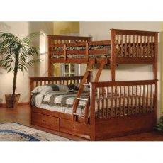 Двухъярусная кровать-трансформер Буратино