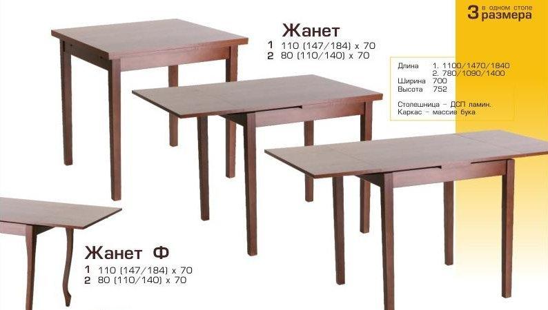 Фото - Кухонный стол Жанет