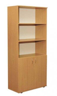 Фото - Шкаф книжный полузакрытый 2-дверный