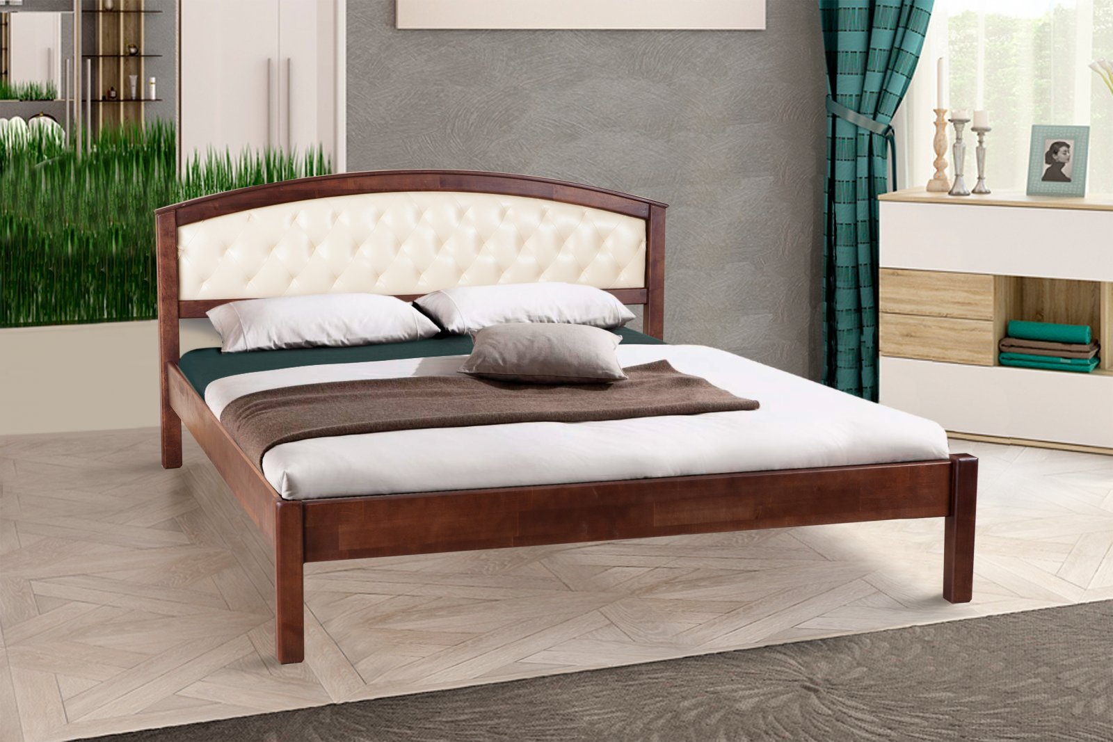 Фото - Кровать двуспальная Джульетта (магкая)