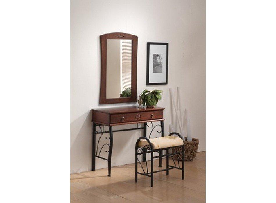 купить красивый туалетный столик 1102 из натурального дерева для