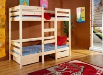 Фото - Двухъярусная кровать-трансформер Селена
