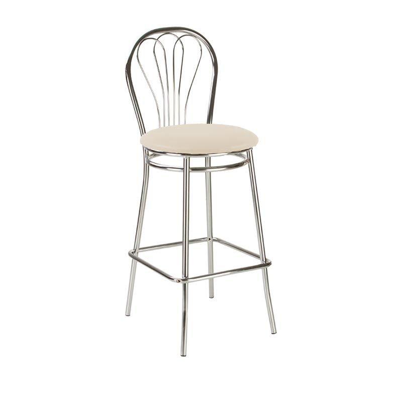 Фото - Барный стул VENUS hoker chrome