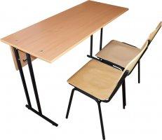 Школьная парта Аудиторная и 2 стула