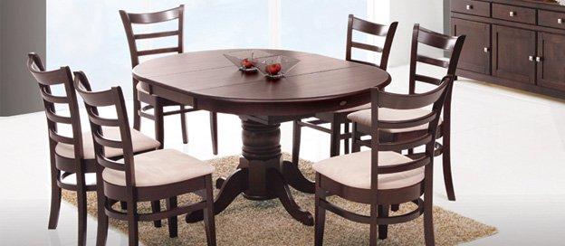 Фото - Кухонный комплект Круглый стол (раскладной) + стулья