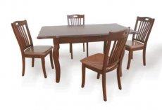 Комплект кухонный стол Зара и стулья Дилан