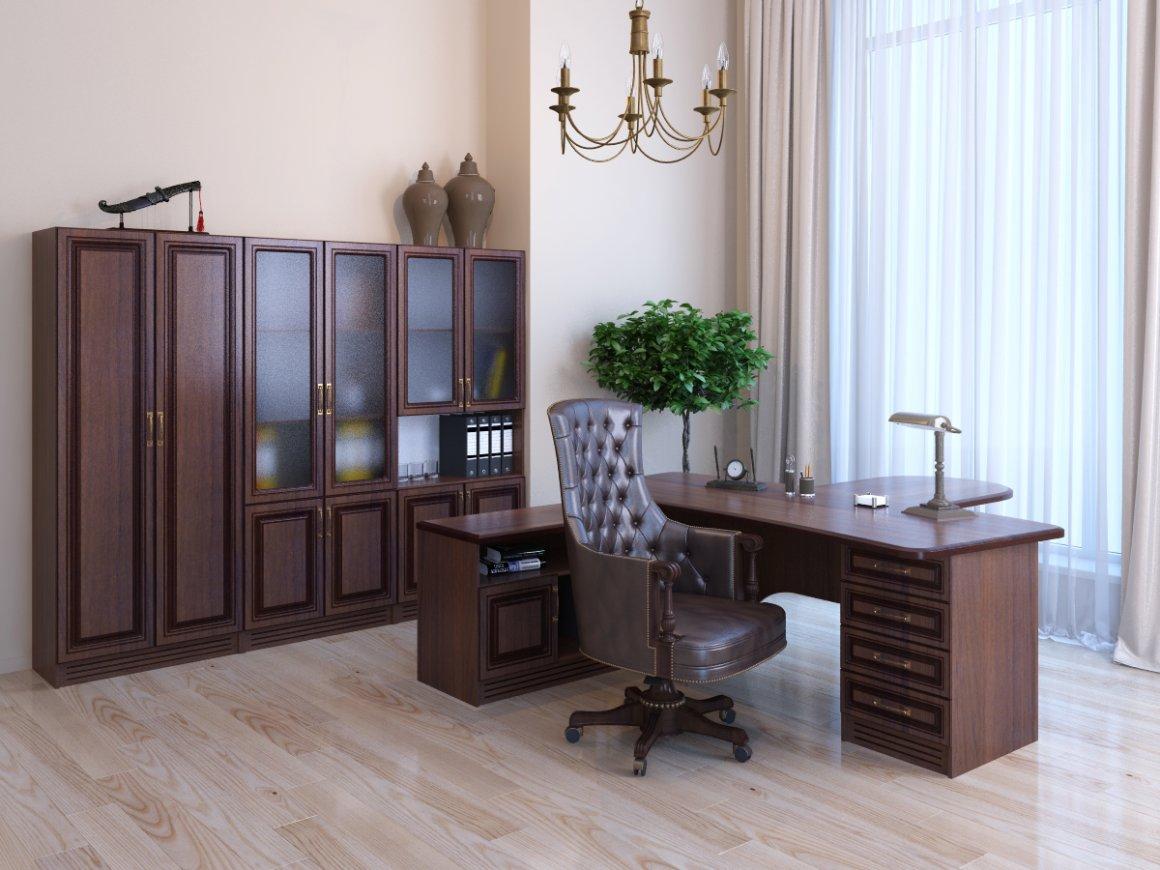 Серия офисной мебели Консул: кабинет руководителя Консул - доп. фото