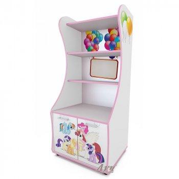 Фото - Стеллаж для игрушек Little Pony