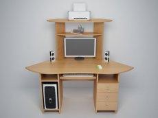 Компьютерный стол С570 - ольха