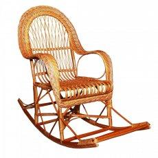 Фото - Кресло качалка из лозы КК-10