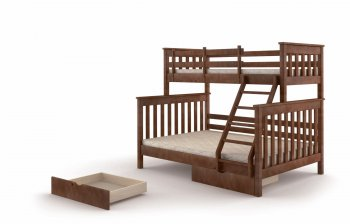 Фото - Кровать двухъярусная Скандинавия