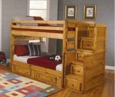 Фото - Кроватка детская двухъярусная ДПЛ-20