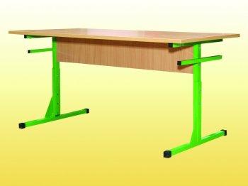 Фото - Стол для столовых з пластиковой столешницей