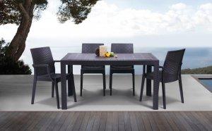 Комплект: стол Urano и стул Dafne