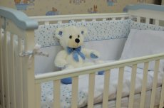 Детский постельный комплект Blue Sparks