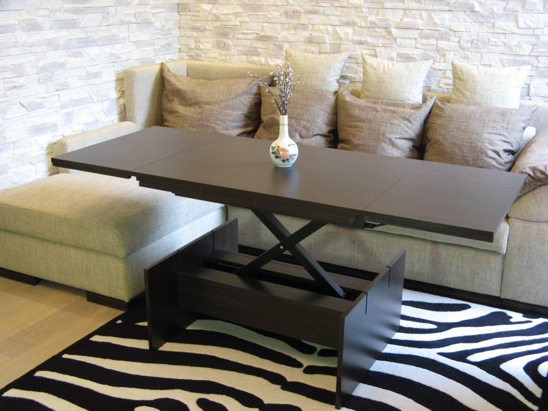 Столы трансформеры для гостиной 16 фотография