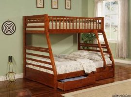 Кроватка детская двухъярусная ДПЛ-22