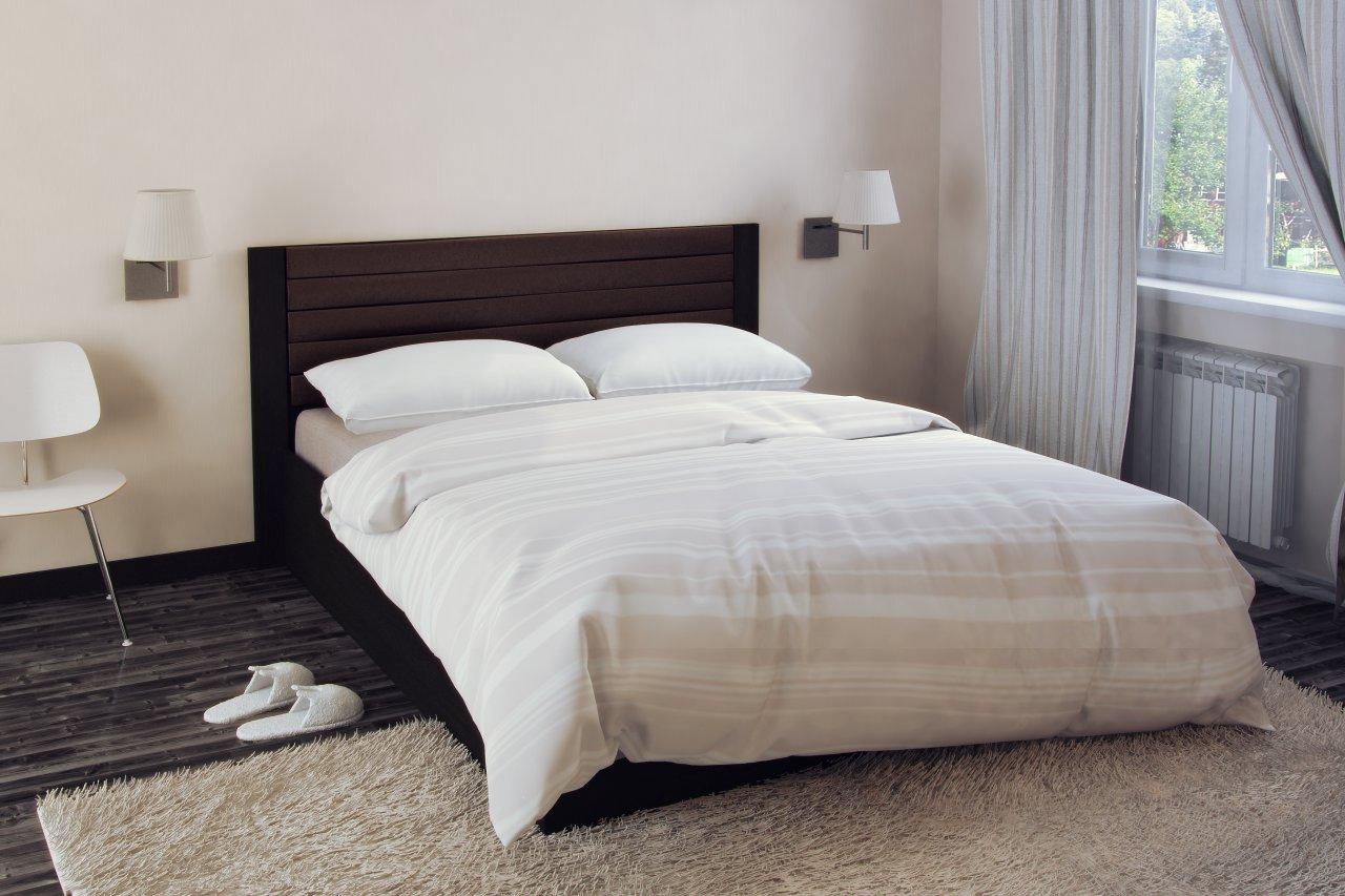 Фото - Двухспальная кровать с подъемным механизмом Барселона