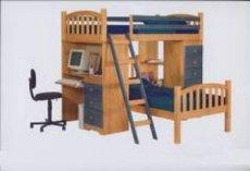 Фото - Кроватка детская двухъярусная ДПЛ-12