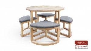 Стол и стулья Мирайя R